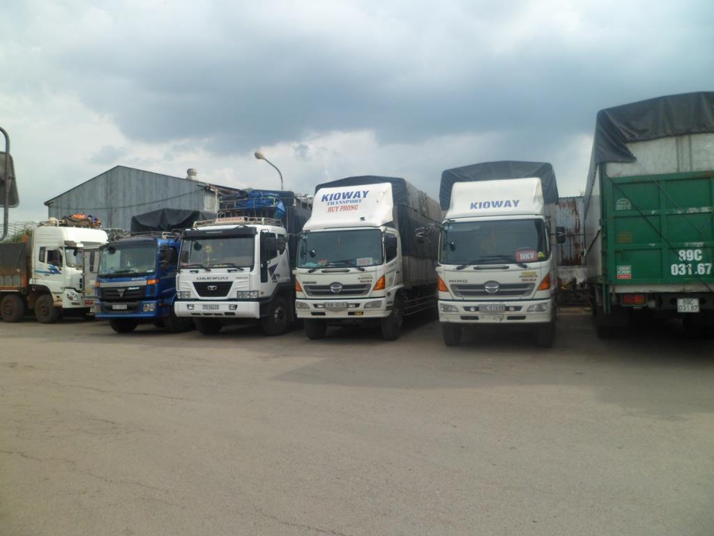 Chành xe vận chuyển hàng hóa đi Đồng Hới, Quảng Bình