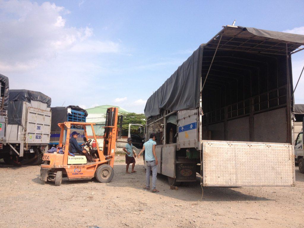 Chành xe vận chuyển hàng hóa đi Tam Kỳ(Quảng Nam)