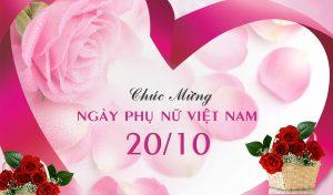Công ty Ngọc Long chúc mừng Ngày Phụ nữ Việt Nam 20-10