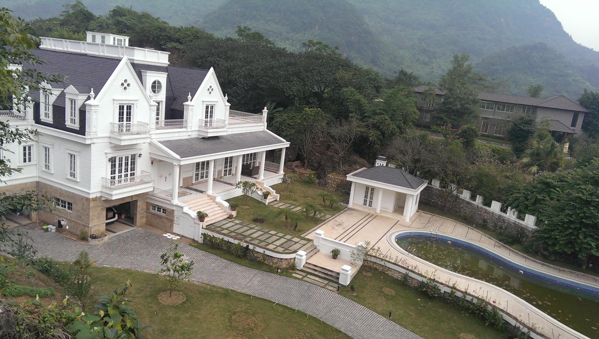 Ngôi biệt thự trong khu trang trại nghỉ dưỡng Lương Sơn