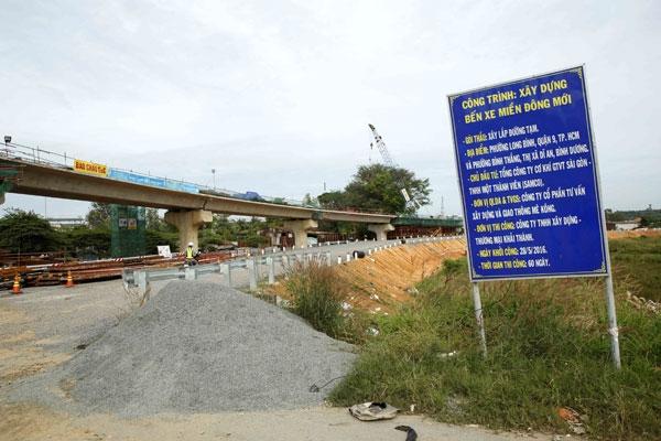 Dự án bến xe Miền Đông mới