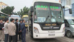 Kiểm tra vận tải hàng hóa, hành khách dịp Tết Đinh Dậu 2017