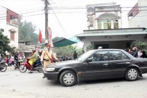 Tăng cường bảo đảm trật tự an toàn giao thông dịp lễ hội xuân 2017