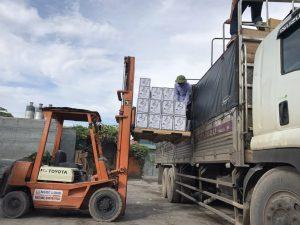 Nhận vận chuyển hàng hóa bằng xe tải