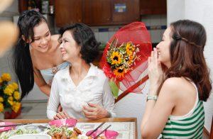 bí quyết tặng hoa cho mẹ ngày 20/10