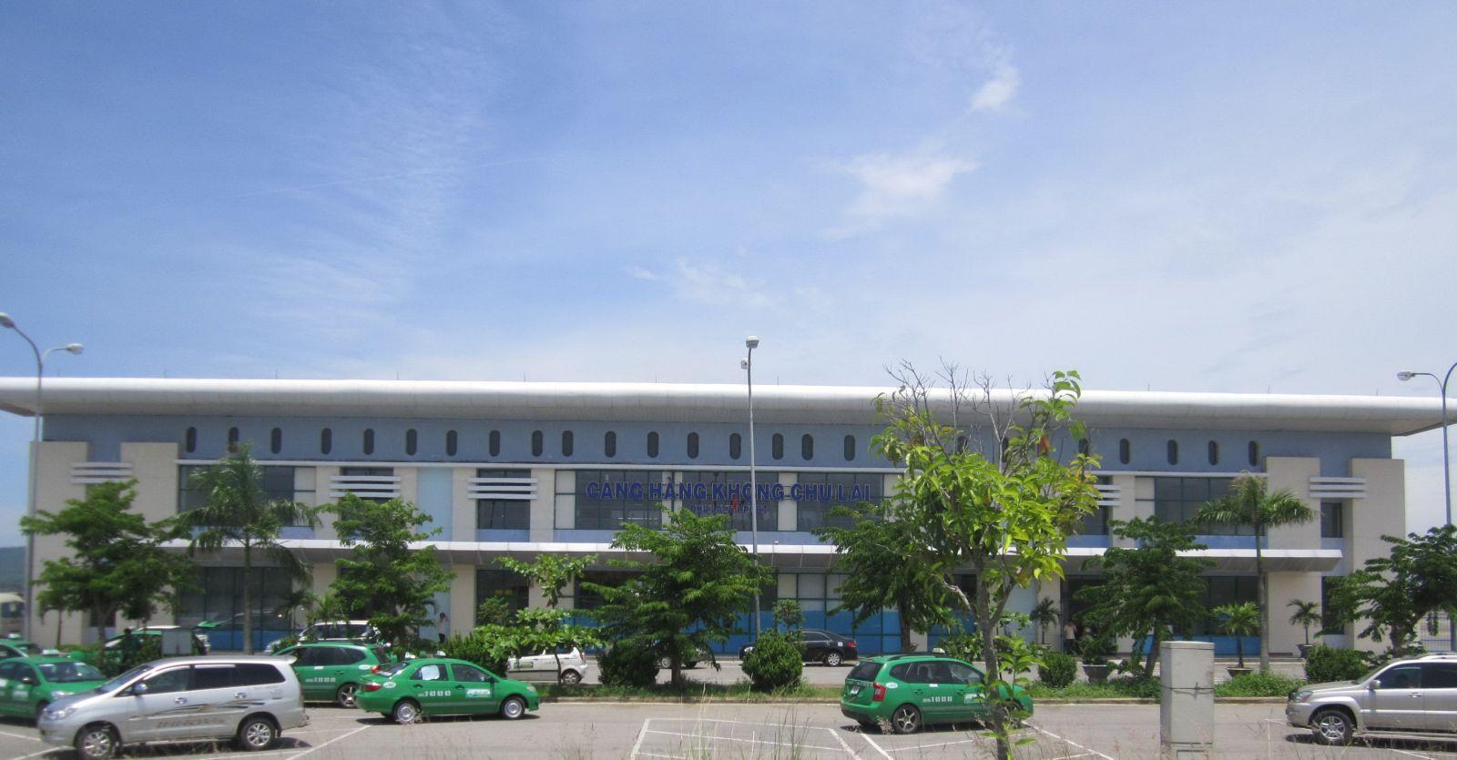 Xe đưa đón sân bay Chu Lai