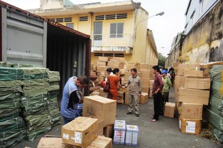 Vận chuyển hàng đi KCN Việt Hương