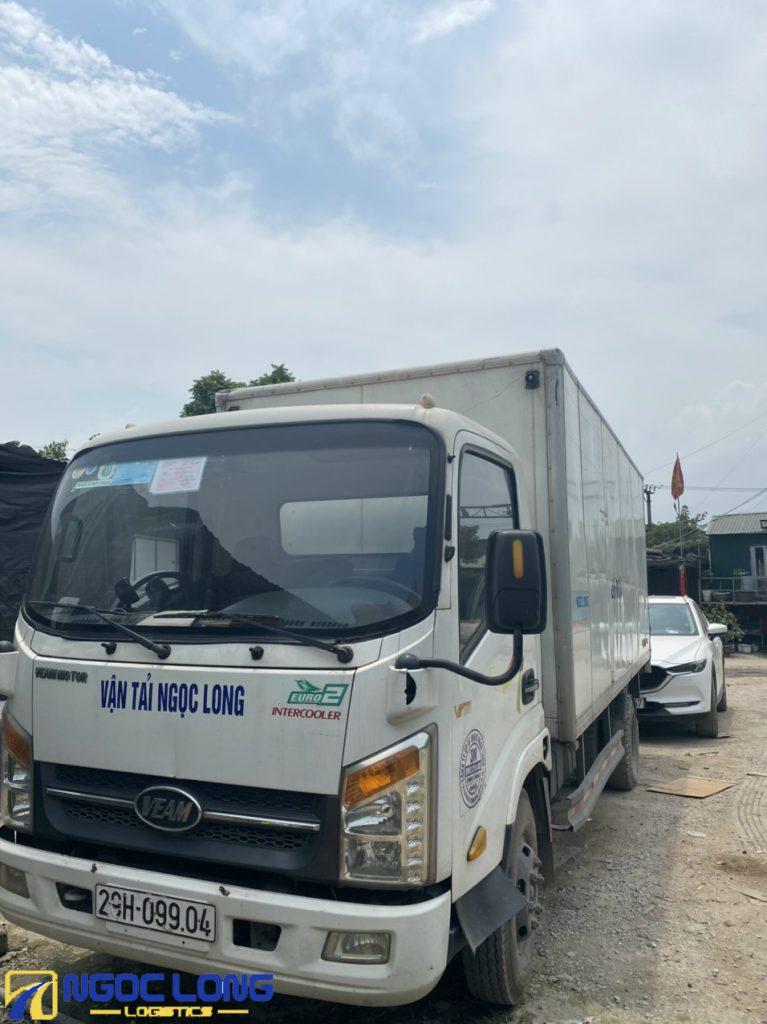 xe tải vận chuyển hàng bắc nam