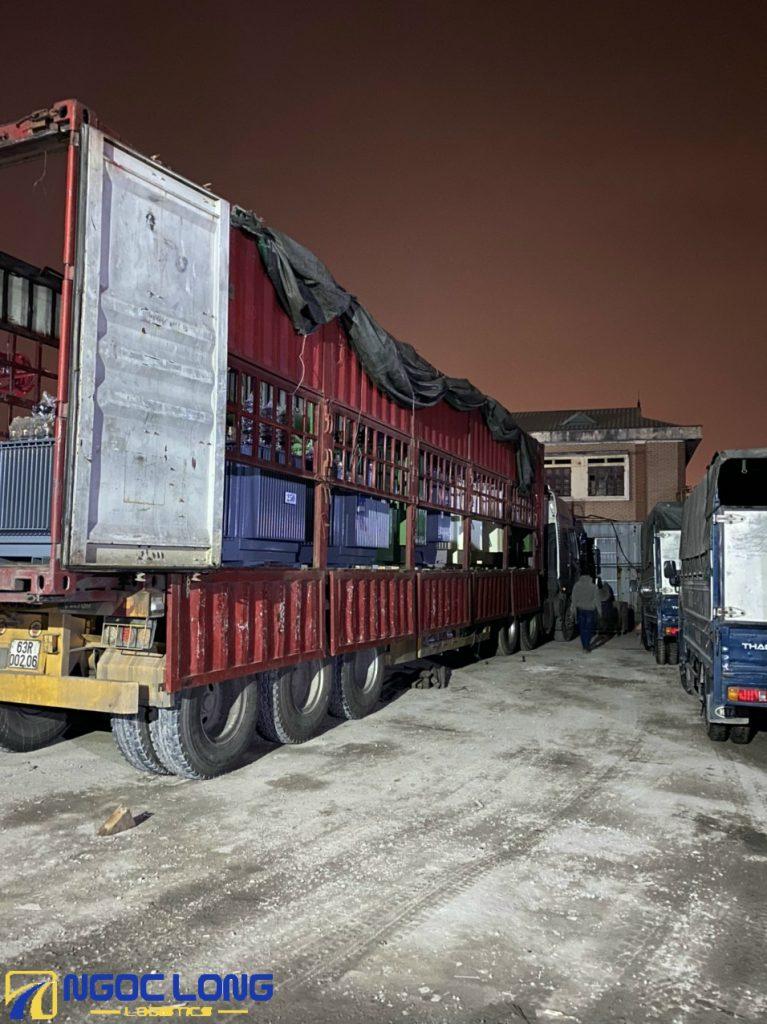 Vận chuyển hàng hóa đi KCN Kim Huy
